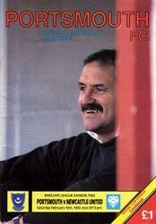 Portsmouth FC Programme 1989-90
