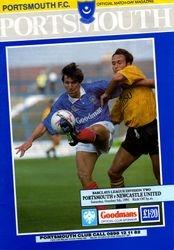 Portsmouth FC Programme 1990-91