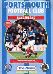 Portsmouth FC Programme 1995-96
