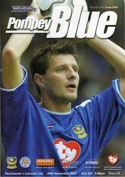 Portsmouth FC Programme 2003-04