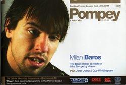 Portsmouth FC Programme 2007-08