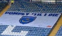 Pompey Till I Die Flag
