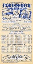 Portsmouth FC Programme 1948-49