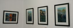 Work by Bradley Watson and 3 by Stephen Kernohan