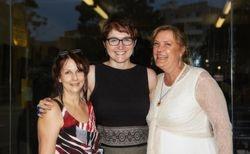Merryn Spencer Parramatta City Council (centre), Vanessa and Lyndsey