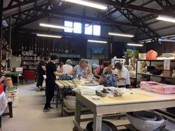 Group Volunteers at work 3