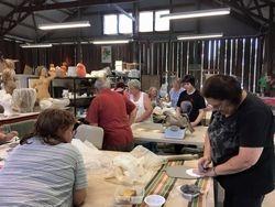 Group Volunteers at work 4