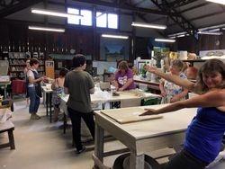 Group Volunteers at work 5