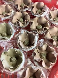 Poppies made and drying 2