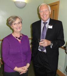 Bryan Harvey and Mrs Chambers