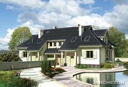 Proiect vila duplex CUMNAT DUO