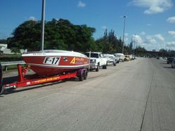 Caravana  desde San Juan Peaje Buchanan