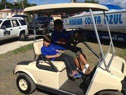 Auspicio bayamon Golf Cart
