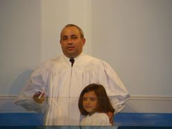 Hannah's Baptism 4/29/2012