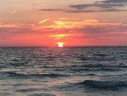 Sunset Indian Shores Fla.