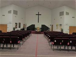 Redemption Baptist Church, Sanctuary