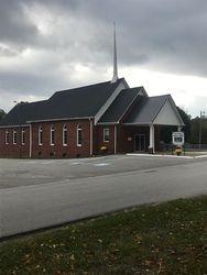 Siloam Baptist Church, side view
