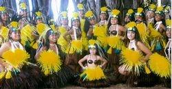 The Tamari'i dancers of Tiare Apetahi