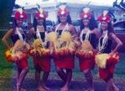 The dancers of Tiare Apetahi