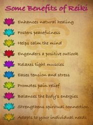Benefits of Reiki Color