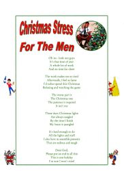 Christmas Stress For Men