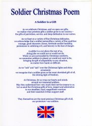 Soldier Christmas Poem