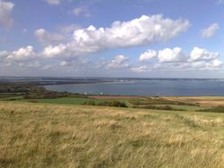 View to Studland and Sandbanks