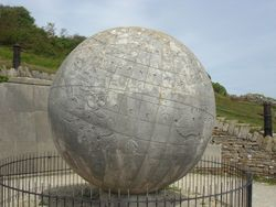 Globe at Durlston Country Park