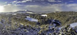 Winter from Scott's View