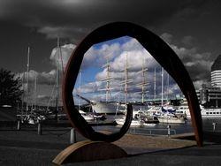Gothenburg sculpture