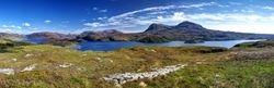 Loch a' Chàirn Bhàin agus Quinag