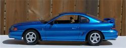 AMT 1995 Ford Mustang Cobra 5.0 Litre Supercharged