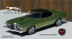MPC 1973 Mercury Cougar XR-7 351ci