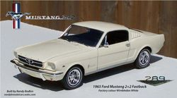 Revell 1965 Ford Mustang Fastback 2+2 289ci
