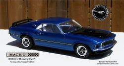 Revell 1969 Ford Mustang Mach1 428ci Cobra Jet