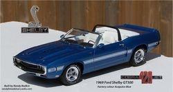 Revell 1969 Ford Shelby GT500 428ci Cobra Jet
