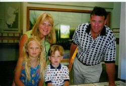 Taylor with her family