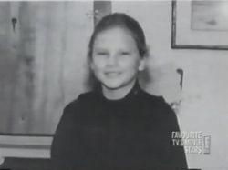 Taylor in third grade