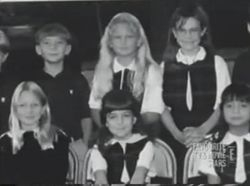 Taylor's third grade class picture