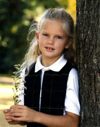 Taylor's first grade school picture