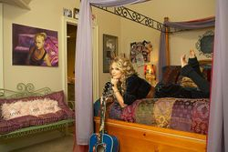 Taylor in her old room