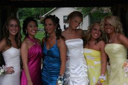 Taylor with all the girls