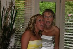 Taylor and Kelsey being silly
