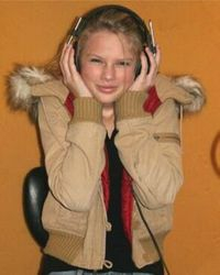 Taylor in the studio 1