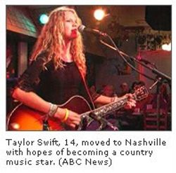 A picture of Taylor from an article