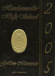 Taylor's 2005 yearbook cover