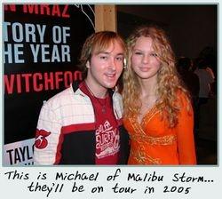 Taylor meeting Micheal