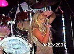 Taylor performing karaoke at 11