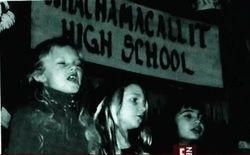 Taylor singing in second grade