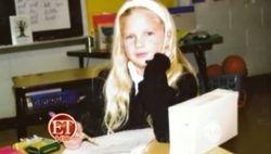 Taylor in second grade 3